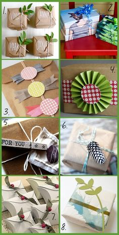 Soap Deli News: Handmade DIY Christmas Gift Wrap Ideas