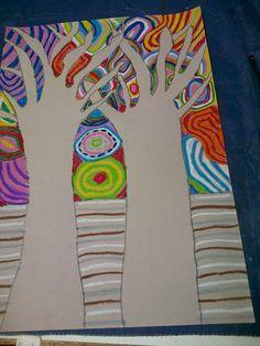 Hundertwasser trees