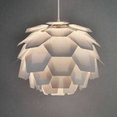Modern White Designer Artichoke Ceiling Pendant Light Shade MiniSun http://www.amazon.co.uk/dp/B00NWMRR3G/ref=cm_sw_r_pi_dp_U9izwb08W6FXX