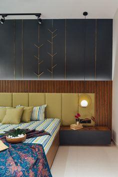Bed Headboard Design, Room Design Bedroom, Bedroom Furniture Design, Modern Bedroom Design, Home Room Design, Home Interior Design, Living Room Designs, Modern Bed Designs, Modern Headboard