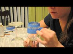 Really easy DIY tutorial video. How to make etched wine glasses
