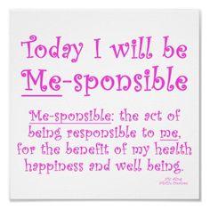 Me-sponsible!