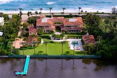 Single Family Home for Sale at Magnificent Ocean-to-Lake Mediterranean Palm Beach, Florida, 33480 United States
