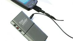 Daytime/solar charger for phone, ipod