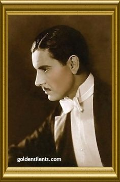 Ronald Colman, Silent and Sound Movie Star  1891-1958