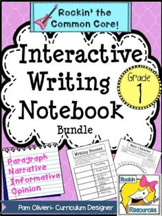 Writing Bundle for 1st Grade 50% off for 24 hours!
