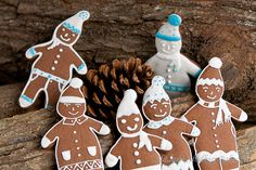 Neither gingerbread | Gingerbread  great as a basket full for gifting...ideas