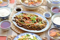 Rice Bowl Tales: 香菇薑絲燴汁蒸魚 Steamed Fish in Braised Shiitake Mushrooms Sauce