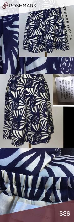 NWOT ANTHROPOLOGIE Nouveau Rose skirt NWOT ANTHROPOLOGIE Nouveau Rose skirt by Corey Lynn Calter, lined, has a beautiful sheen to the fabric, loose fit, elastic waist, falls just above knee, with pockets.  x034522 Anthropologie Skirts A-Line or Full