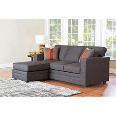 Beeson Fabric Queen Sleeper Chaise Sofa - CostCo - $1000