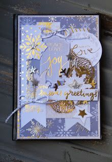 THE STAMPIN PALACE: Season's Greetings Journal: DCWV Elegant Holiday S...