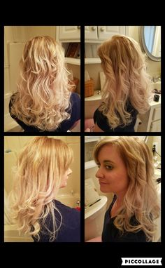 Inspiration by Charee Meizius from Bene's Career Academy - Newport Richey . Got to see my sister and work on her beautiful hair too! #winning #toner #canarybegone #ash #blonde #style  @bloomdotcom