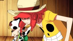 This movie is so cute! One piece movie: Film Z