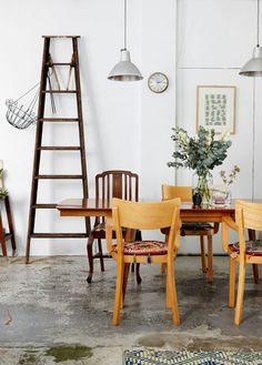 The Sydney warehouse apartment of interior designer Kate Ratner and family.