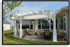 Pergola Ideas Landscaping - Metal Pergola Decor - Pergola Patio Ideas DIY Step By Step - Pergola D'angle, Garage Pergola, Curved Pergola, Steel Pergola, Backyard Pergola, Pergola Plans, Pergola Ideas, Pergola Kits, Gazebo
