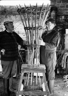 The Ancient British Craft of Basket Making, Baskets of Britain. The New Craftsmen at Decorex 2015.