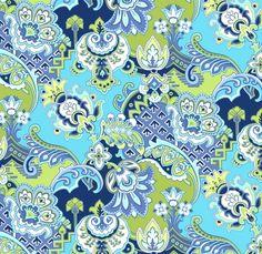 36100 Fresh - Brocade - Turquoise