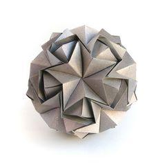 No name #origami #kusudama