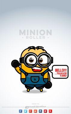 #minion #roller @madridpatina