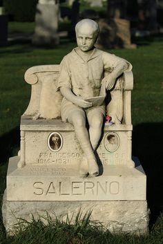 There are several children memorialized on this stone - beautiful, but so sad...