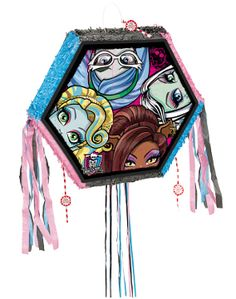 Monster High Pinata - Monster High Party Supplies : Perfect Party by Cody