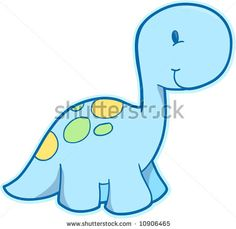 Baby+dino+drawing | Cute Dinosaur Vector Illustration - 10906465 : Shutterstock