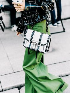 The perfect way to add a pop of color to a simple outfit