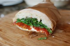 Another use for No-Knead Bread Dough: Slow Roasted Tomato Sandwiches and Pizza