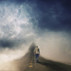 The Road, Francesco Romoli Creative Photography, Art Photography, Montage Photo, Surrealism Photography, Background Pictures, Surreal Art, Optical Illusions, Bokeh, Buy Art