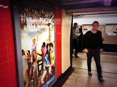 Nelle stazioni metropolitana #weareinpuglia #londra #londonunderground #promozione #turismo #scopertalapuglia www.weareinpuglia.it