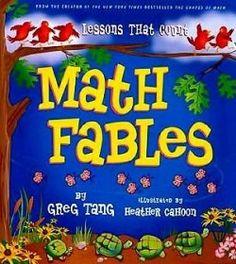 Picture books for math! What a great way to bring in literacy teaching and student engagement