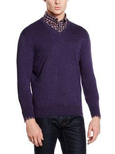 Hackett London Pullover Cott Seda Mx V Lg su Amazon BuyVIP
