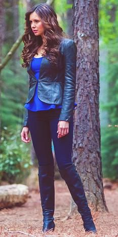 Katherine Pierce-The Vampire Diaries...love the outfit