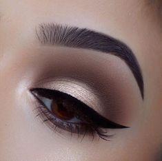 Eye Makeup Tips, Smokey Eye Makeup, Makeup For Brown Eyes, Makeup Goals, Skin Makeup, Makeup Inspo, Makeup Inspiration, Makeup Ideas, Beauty Makeup