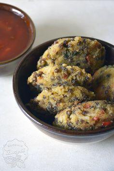Kotleciki ryżowe z soczewicą | Kuchnia Bazylii