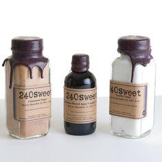 Sugar High collection includes cinnamon sugar, vanilla sugar, and bourbon barrel-aged vanilla extract