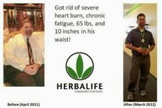 A wonderful man with a big story about Herbalife