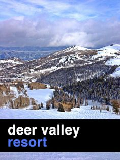Embrace the cool chill on the slopes of Deer Valley Resort