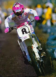 Damon Bradshaw - motocross us 90's