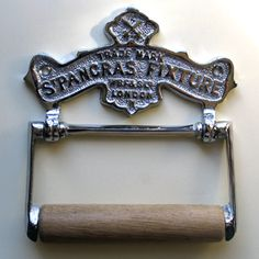 tp holder Toilet Roll Holder, Victorian Toilet, Bathroom Toilets, Bathrooms, Downstairs Toilet, My Ideal Home, Chrome, Rolls