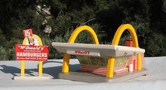 McDonalds model for HO train set