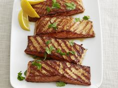 Moroccan Grilled Salmon Recipe : Food Network Kitchens : Food Network - FoodNetwork.com