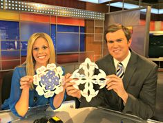 Justin Wilfon and Deana Silk showing off their snowflakes.  What a fun way to show the Olympians that you are rooting for them!  Great activity for the kids.  Be sure to #SochiSnowflake to get it shared on www.NBCOlympics.com.  http://www.kjrh.com/sports/olympics/2014-sochi-olympics/sochisnowflake-supporting-team-usa-in-the-2014-olympics