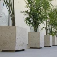 Concrete planters Concrete Planter Boxes, Planter Pots, Concept, Plants, Plant, Planets