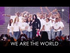 We Are The World - Michael Jackson, Tina Turner, Stevie Wonder, Diana Ross, Lionel Richie and Ray Charles - YouTube