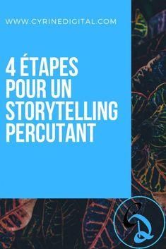 Pour être un bon stratège digital, tu dois maitriser le storytelling, ne serait-ce que pour raconter une histoire autour de ta marque (si tu es freelance, ta marque, c'est toi ^^), ou bien pour rédiger des articles captivants sur ton blog, etc. #storytelling #blog #blogging #marketingdigital #strategiedigitale Content Marketing, Digital Marketing, Web Seo, Creer Un Site Web, Community Manager, Copywriting, Storytelling, Improve Yourself, Entrepreneur