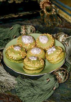 J'adore macarons Tartas Cakes Haute Couture