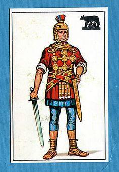 ARMI E SOLDATI - Edis 71 - Figurina-Sticker n. 85 - CENTURIONE ROMANO -Rec