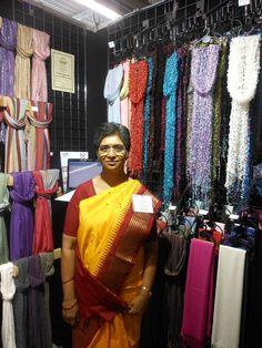 York Scarves' array of fairly-traded scarves Pashmina Scarf, Fair Trade, Home Gifts, Scarf Wrap, Scarves, Sari, Unique, Design, Fashion