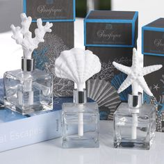 I pinned this Pacifique Diffuser Set from the Zodax event at Joss and Main! Candle Diffuser, Aroma Diffuser, Back To University, Bliss Home And Design, Nautical Gifts, Candle Warmer, Perfume Bottles, Porcelain, Beach House